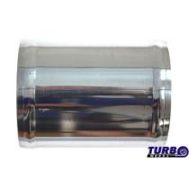 Aluminium cső egyenes 76mm 10cm